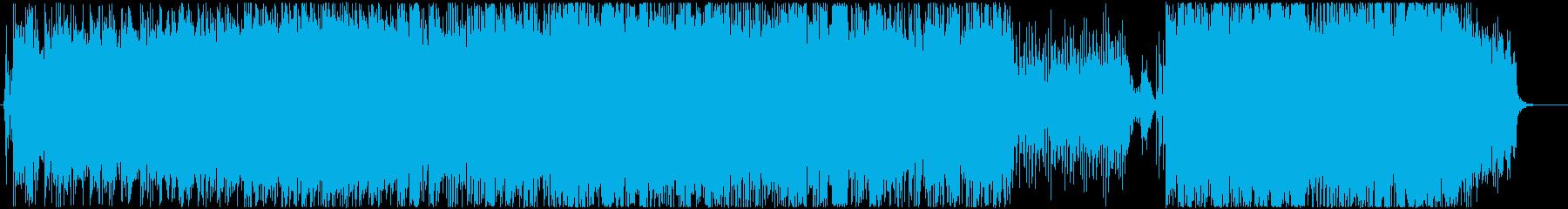 女性ボーカル主体のチル、ポップの再生済みの波形