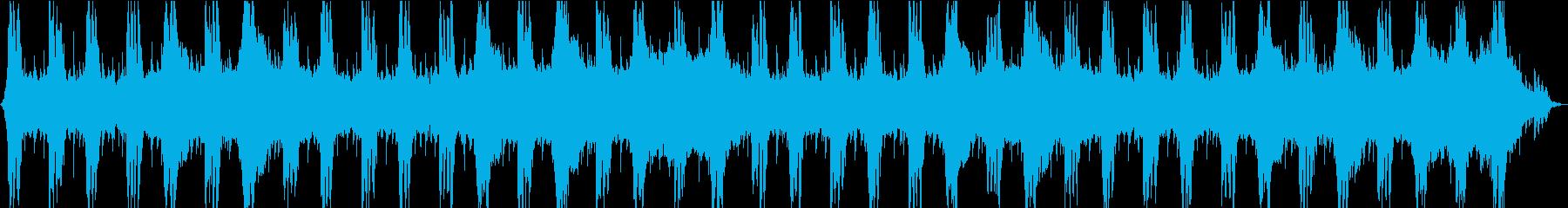 重たい打楽器のアクション系オーケストラの再生済みの波形