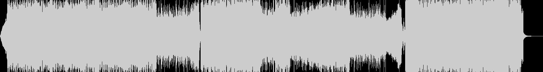 鬼・地獄の業火・ヘビー級ロック 長尺の未再生の波形