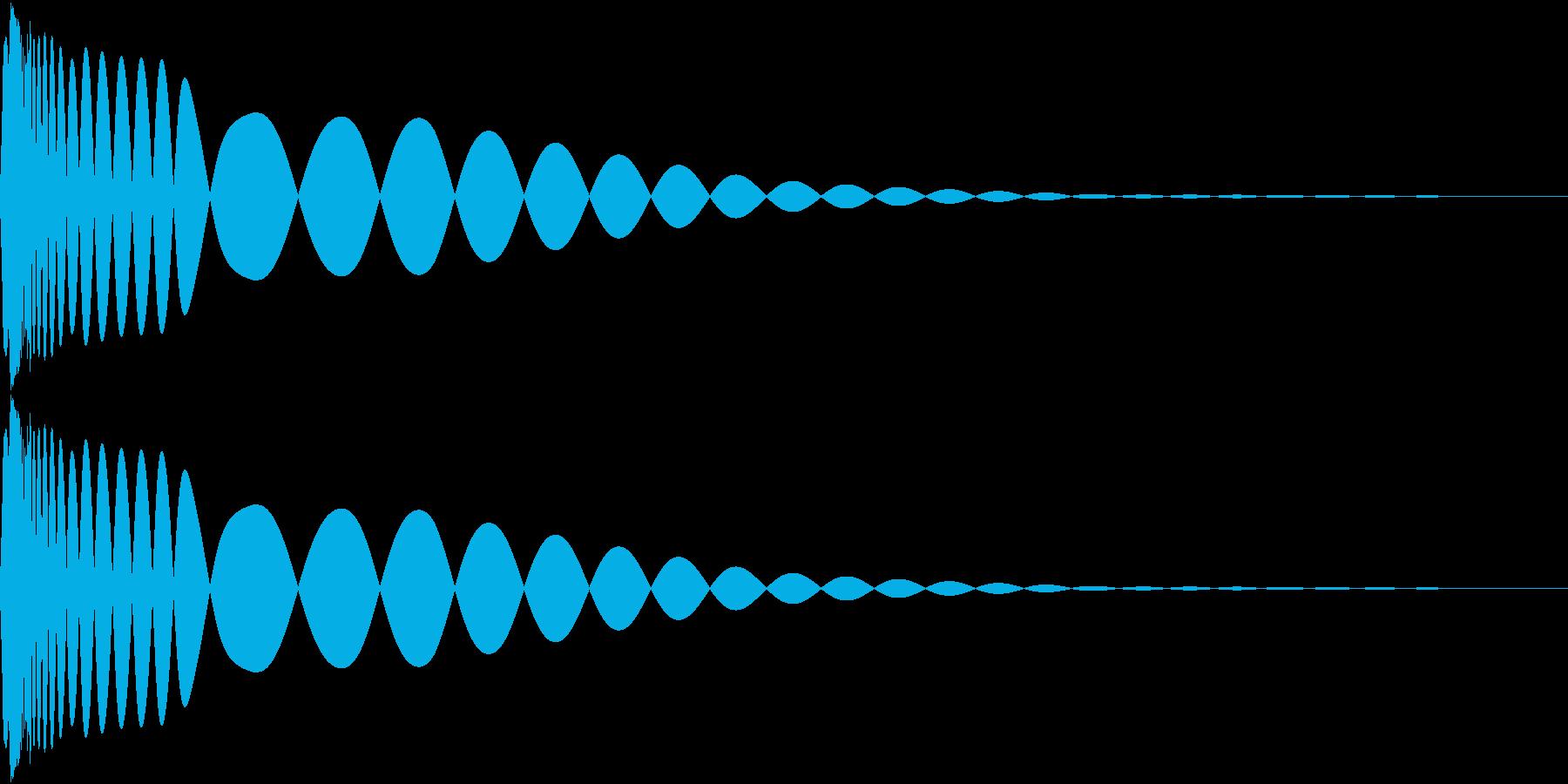 DTM Kick 67 オリジナル音源の再生済みの波形