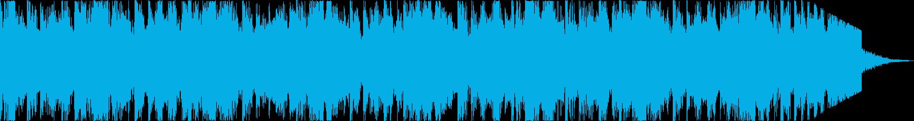 軽快おしゃれニューディスコエレクトロdの再生済みの波形