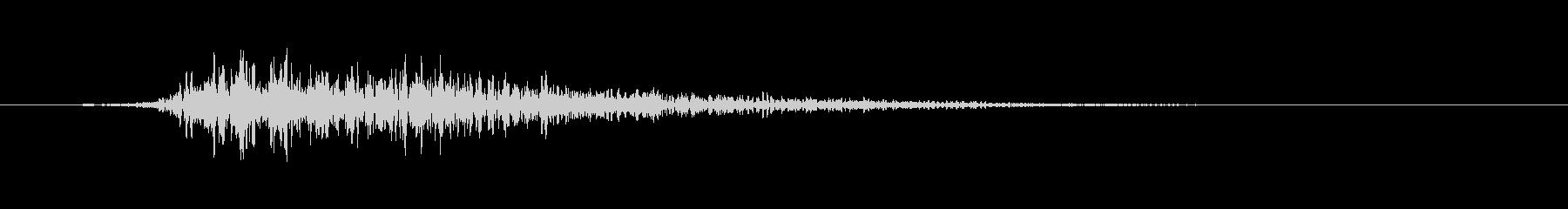 スプリングドラム-ビッグ、シェイク...の未再生の波形