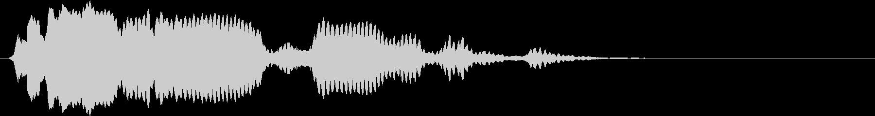 音侍SE「尺八フレーズ1」エニグマ音15の未再生の波形