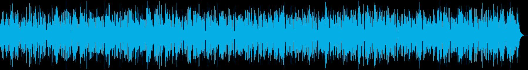 レトロなクラリネットデキシーランドジャズの再生済みの波形