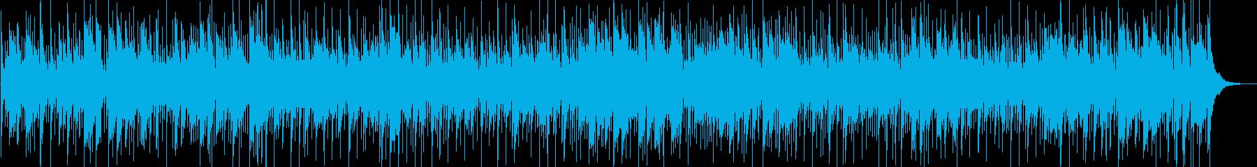 うとうとしてしまいそうなボサノバの再生済みの波形