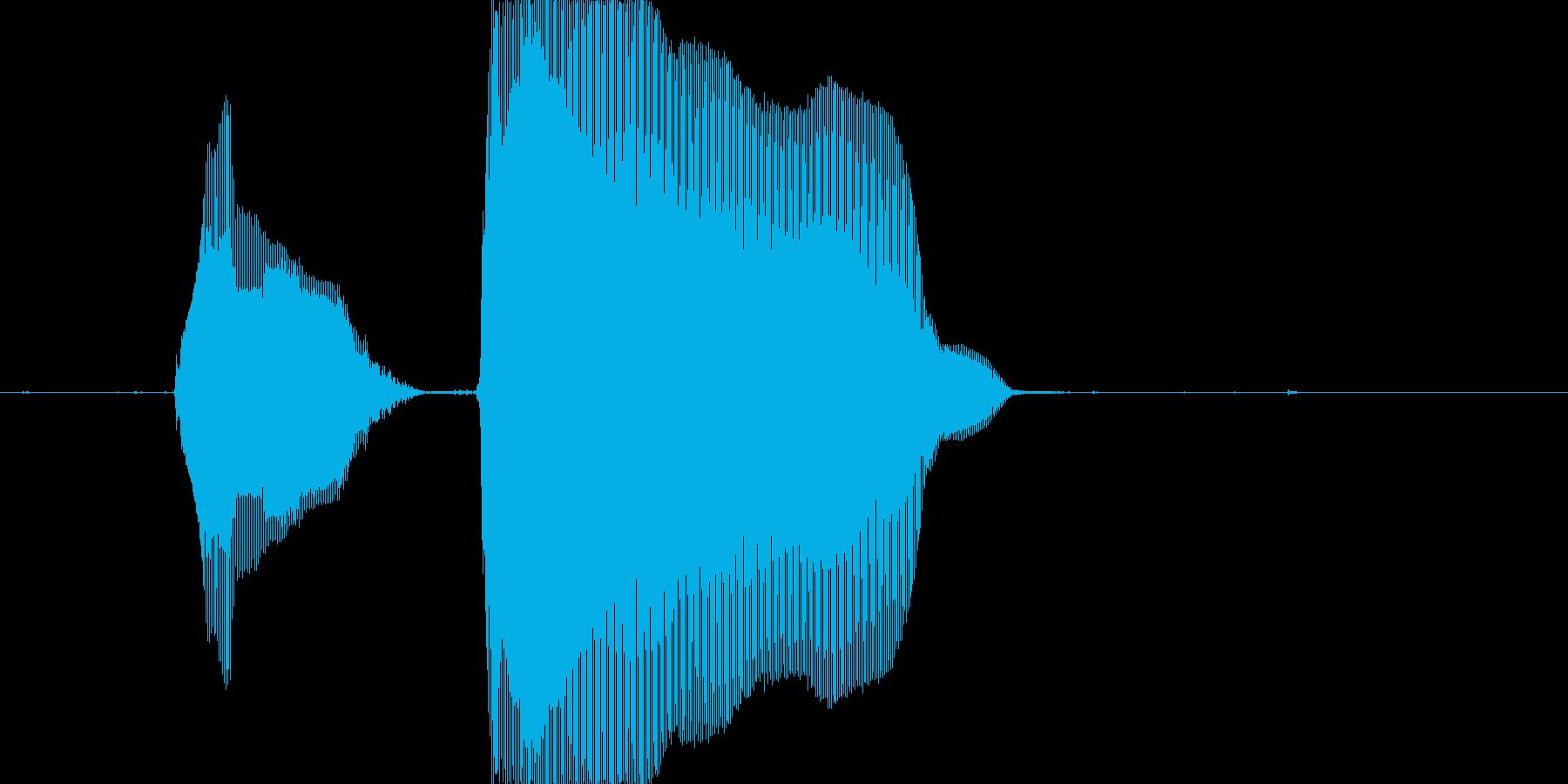 ピンポーン!の再生済みの波形