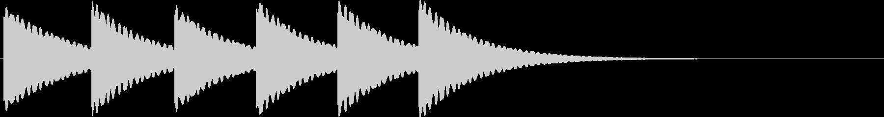 古時計(ホラー)01の未再生の波形