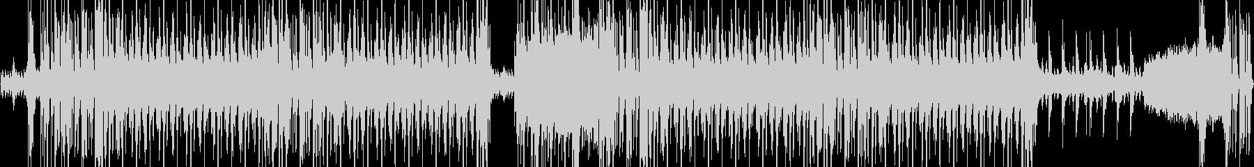ダークだがフックのあるスローなEDMの未再生の波形