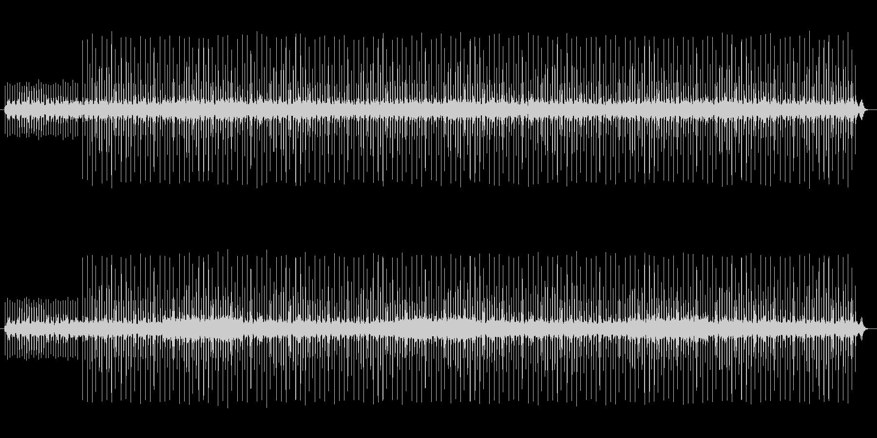 切ないHip Hop,バラード系BGMの未再生の波形