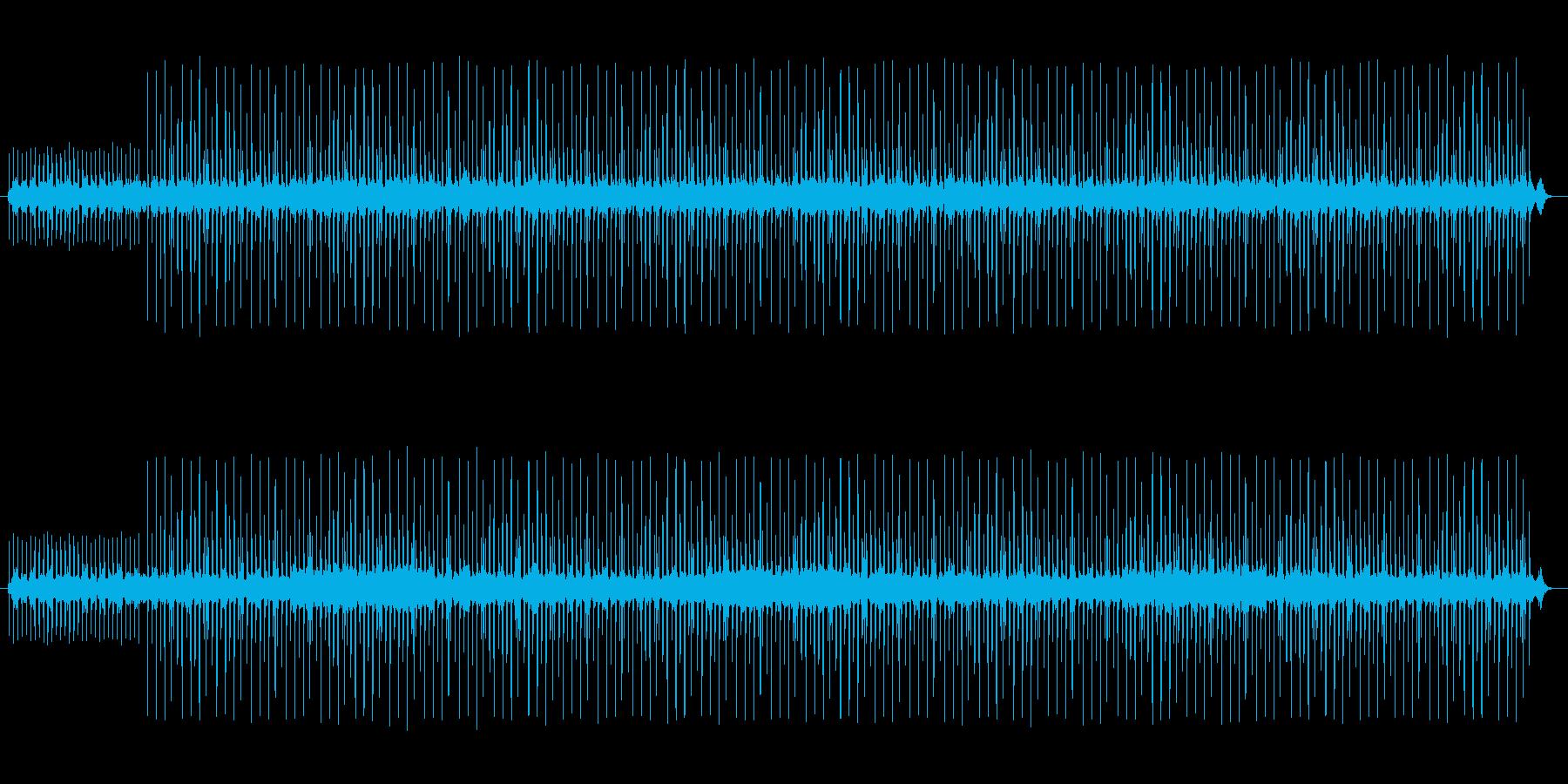 切ないHip Hop,バラード系BGMの再生済みの波形