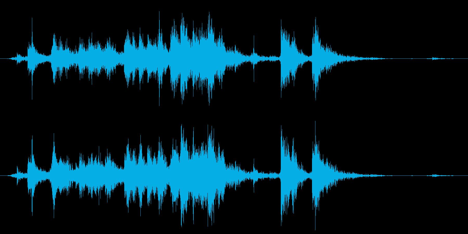 メタル クラッシュミディアム05の再生済みの波形