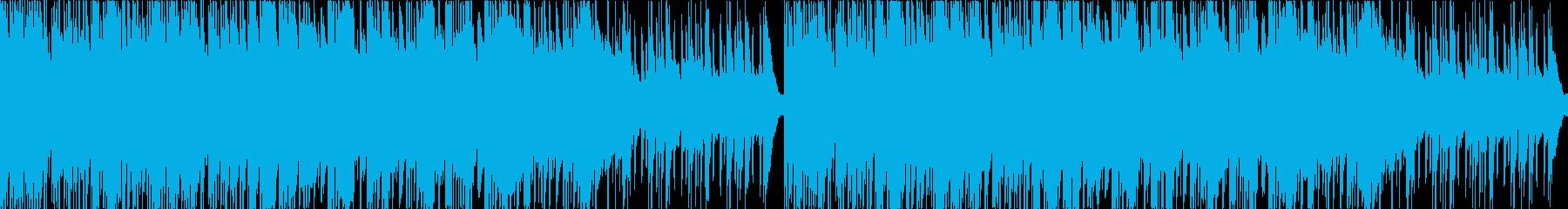 和風ポップス・爽やか軽快・華やか琴の再生済みの波形