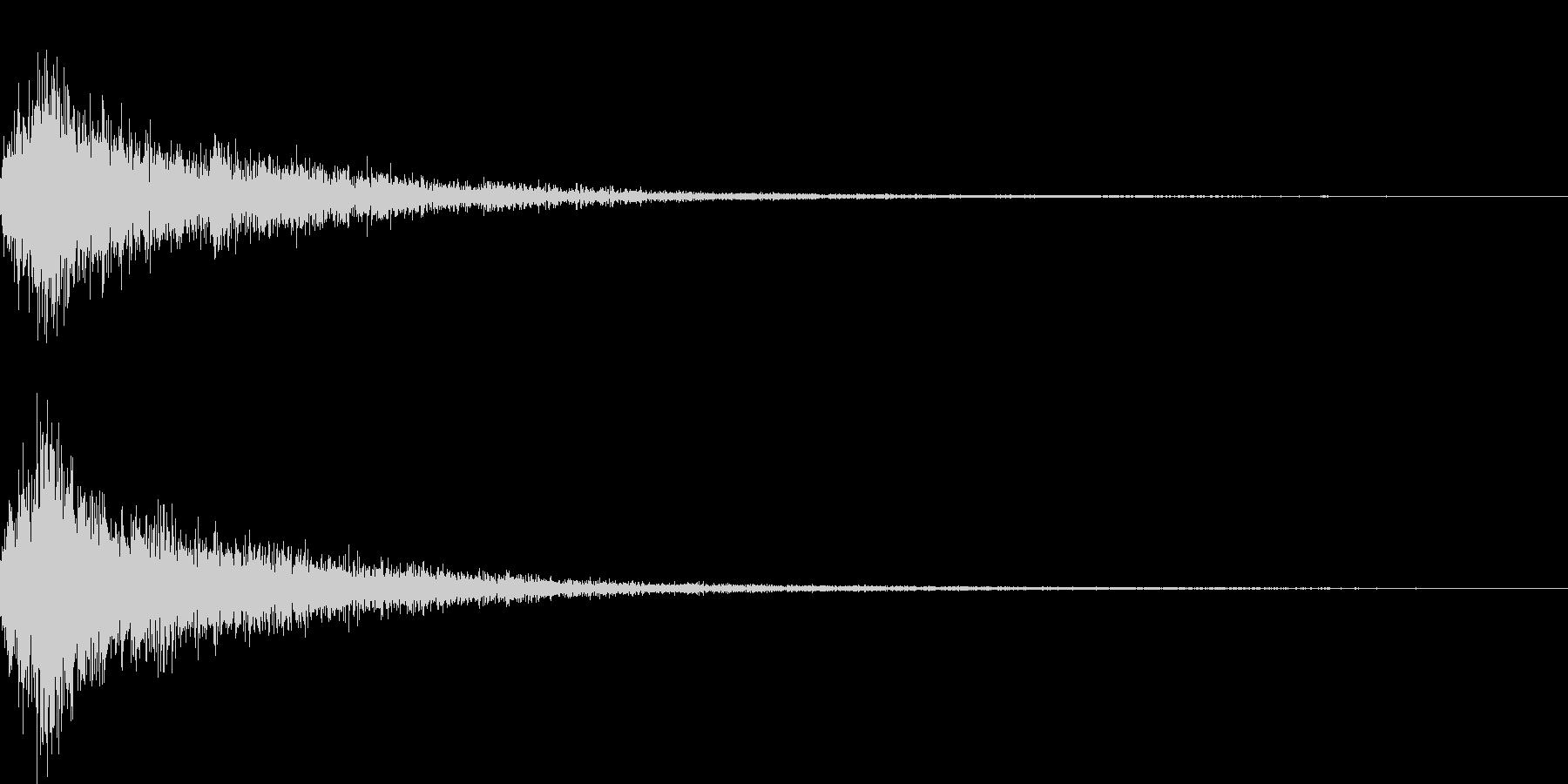 ジャン(オーケストラヒット高めクラシックの未再生の波形