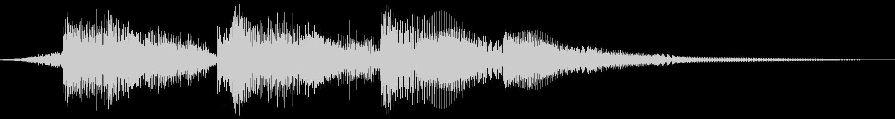 アコースティックギターと控えめなド...の未再生の波形