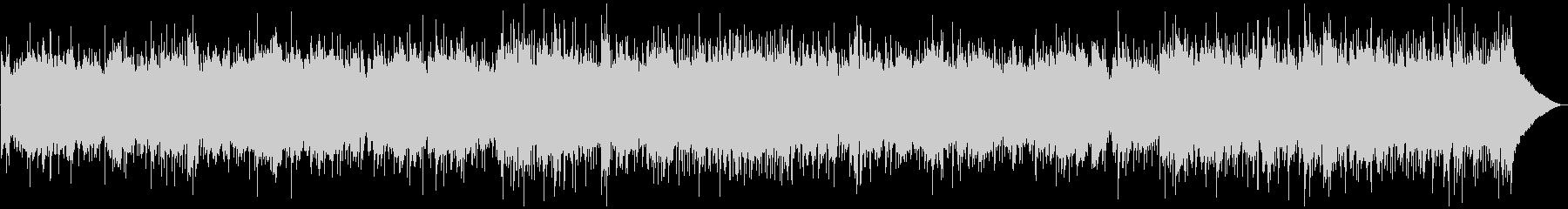 穏やかなカントリーバラードBGMの未再生の波形