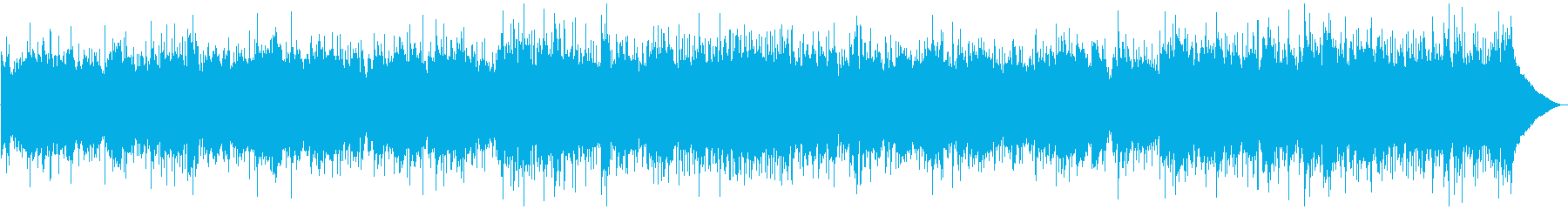 穏やかなカントリーバラードBGMの再生済みの波形