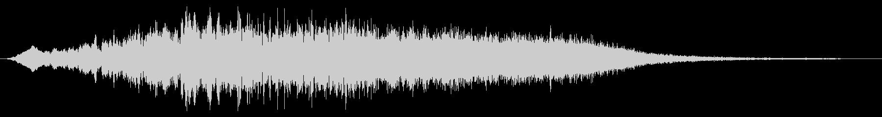 シンセファンネルライザーの未再生の波形