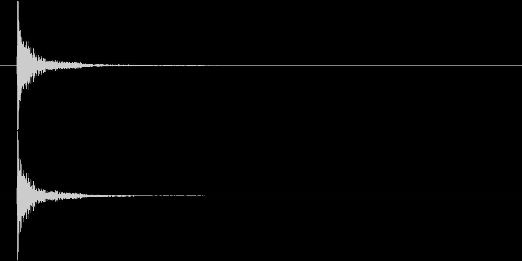 津軽三味線の生音(ジャーン、C音和音)の未再生の波形