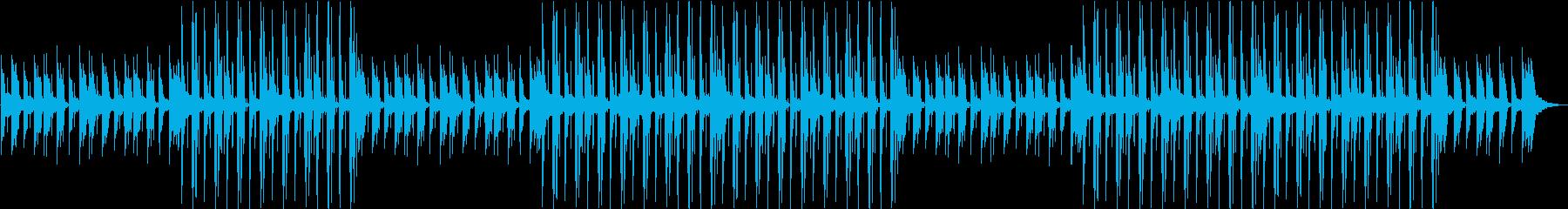 R&B・lofi・夜・リラックス・ムードの再生済みの波形