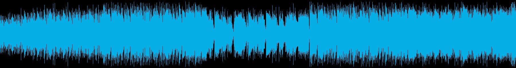 ゲーム・夏のビーチ・コミカルなレゲエの再生済みの波形
