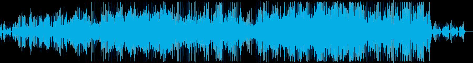 ファンタジーな森のダンジョン風の再生済みの波形