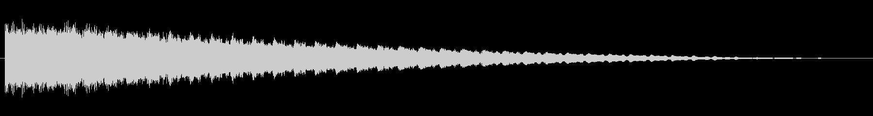 素材 スティンガーハム02の未再生の波形