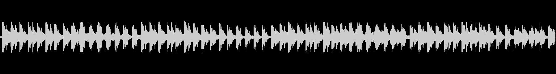 和風テクノループ音源の未再生の波形