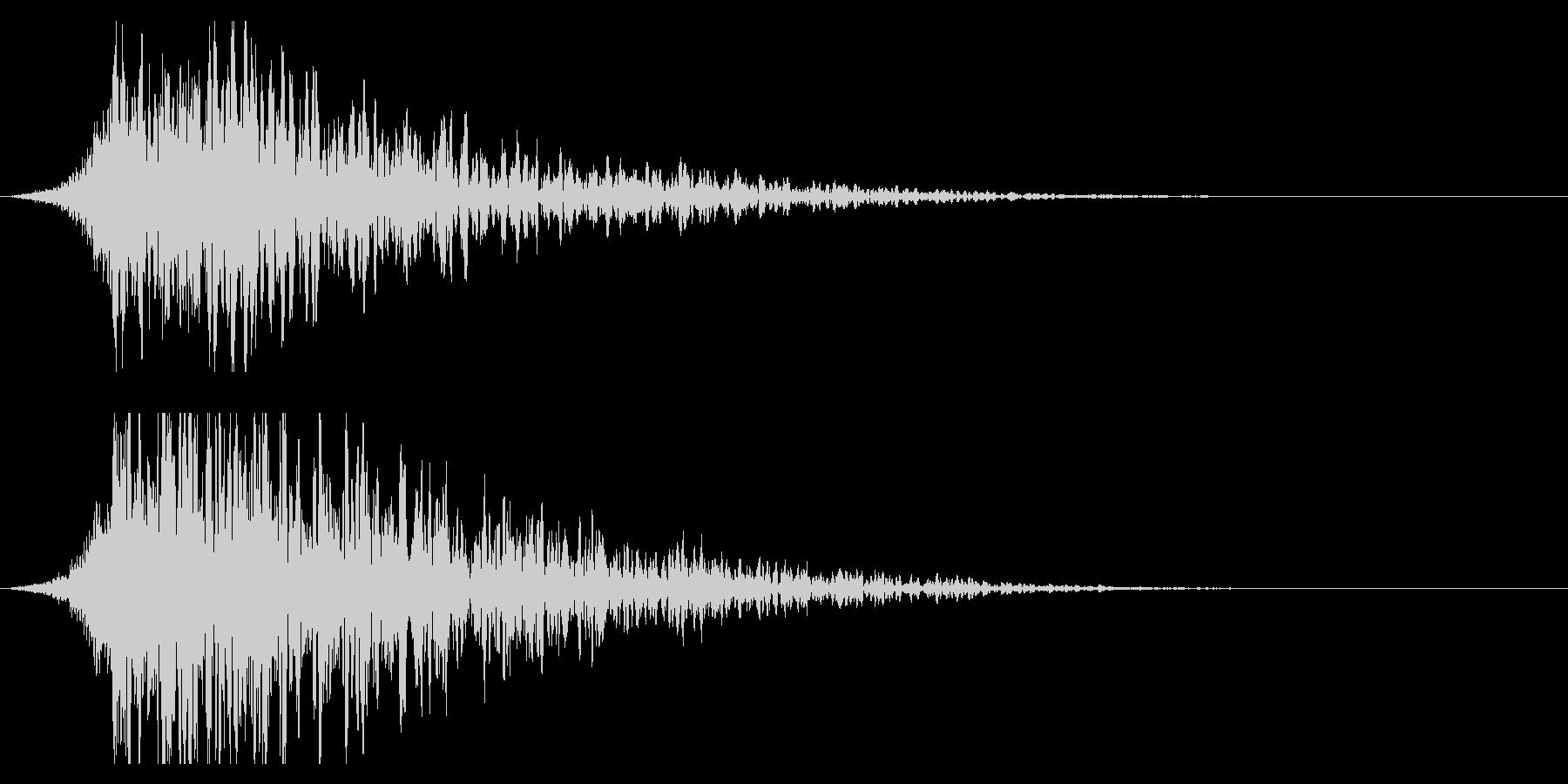 シュードーン-19-2(インパクト音)の未再生の波形