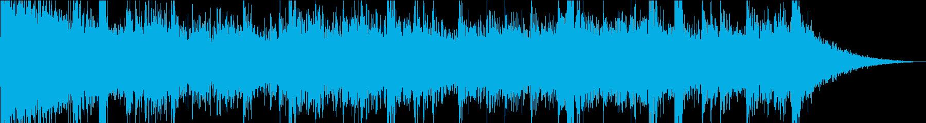 【15秒】トレーラー風/TVCM用の再生済みの波形