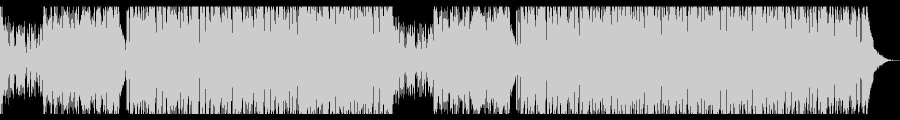 キャッチーなメロのダンス・ハウスポップの未再生の波形