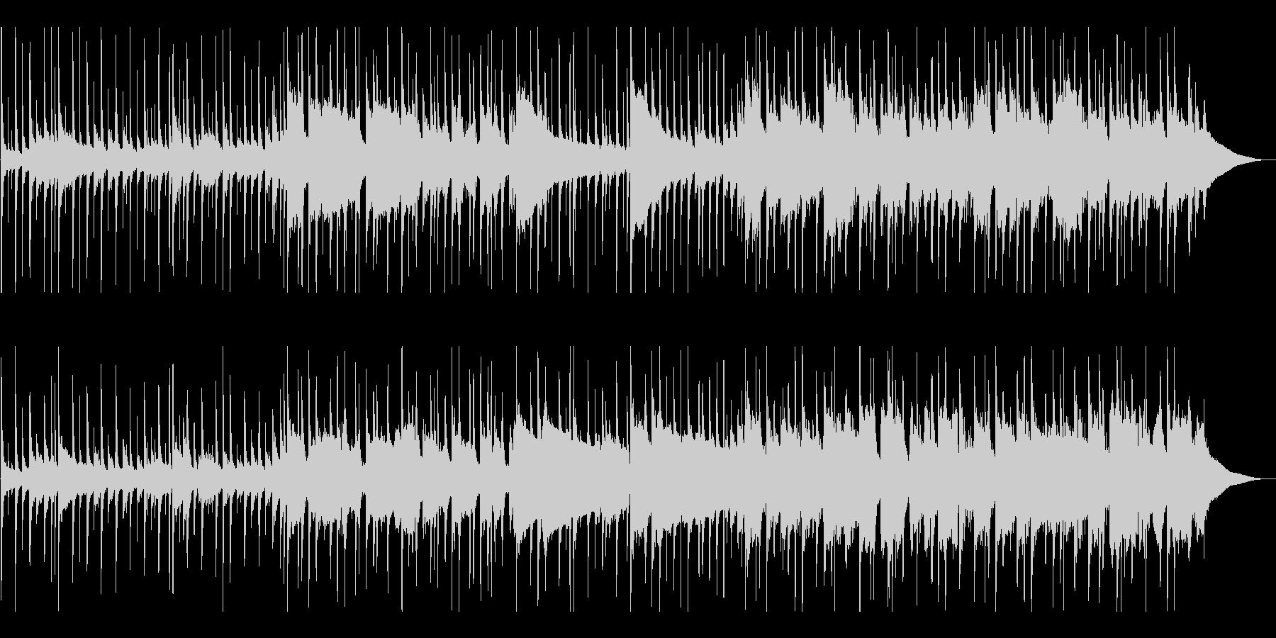ピアノとドラムから始まるアコーステ...の未再生の波形