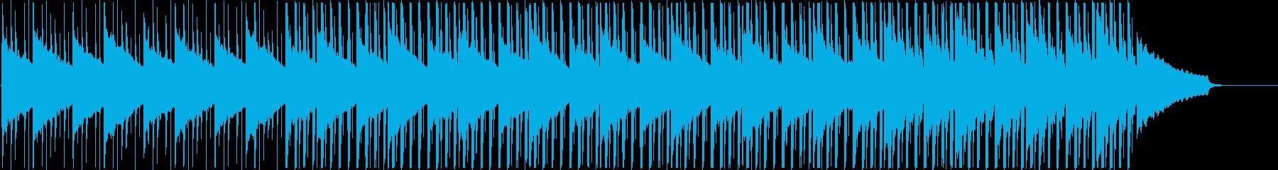 企業VPに 優しい穏やかなハウスMの再生済みの波形
