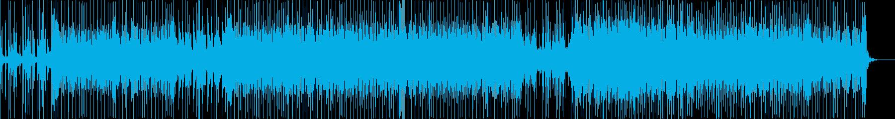 バイオリンが印象的なテクノハウスの再生済みの波形