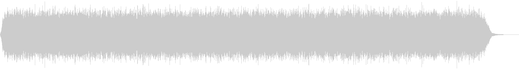 【アンビエント】ドローン_30 実験音の未再生の波形