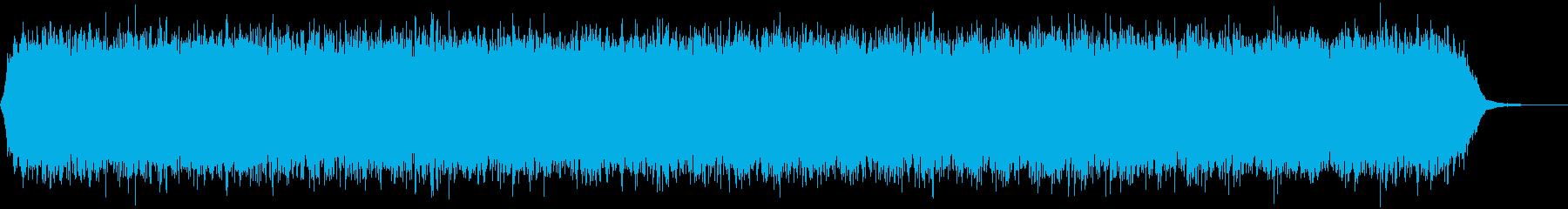 【アンビエント】ドローン_30 実験音の再生済みの波形