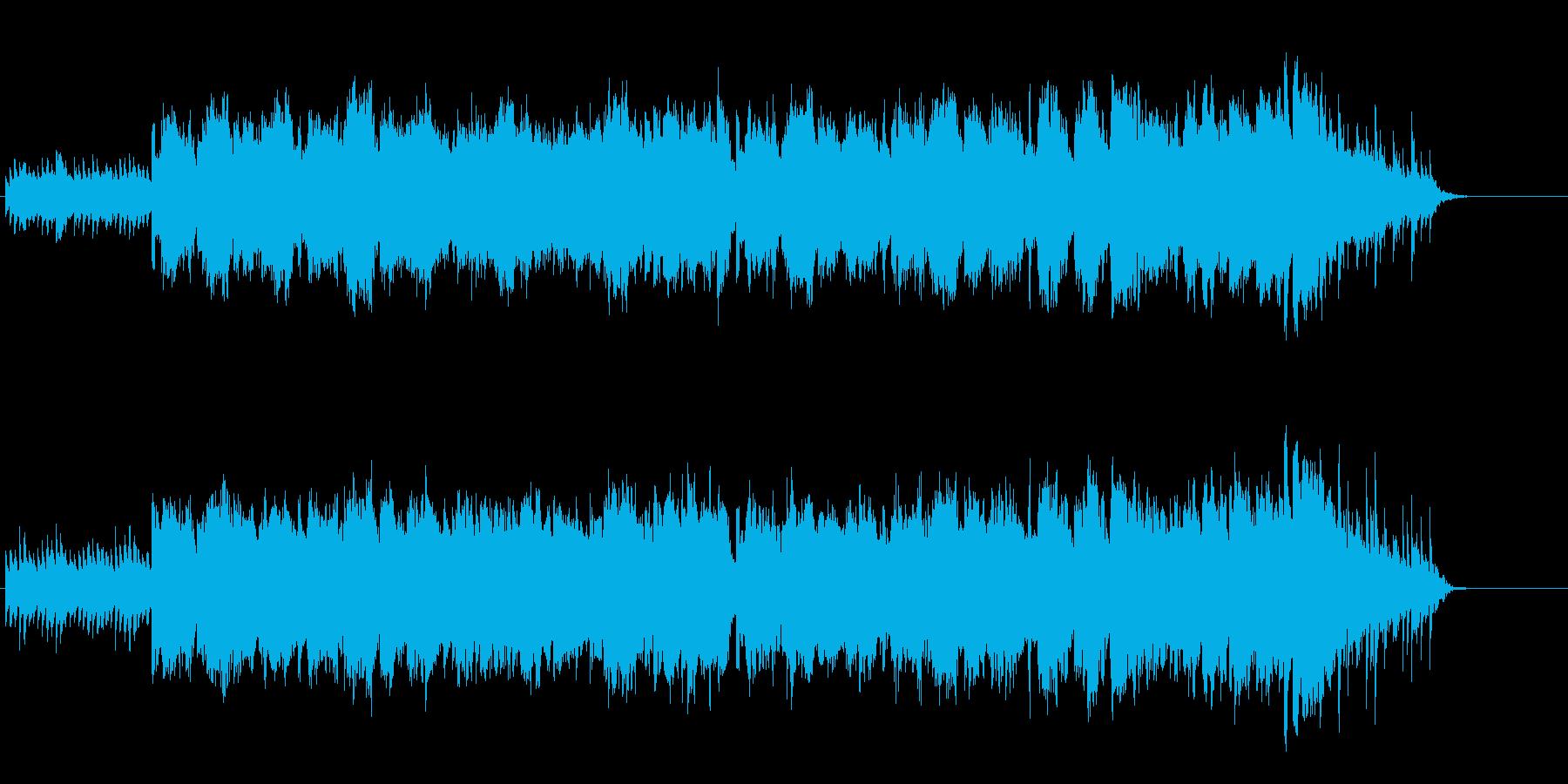気持ちの安らぐセミ・クラ風バラードの再生済みの波形