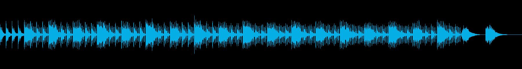 ギターとストリングス、シンセが美しい曲の再生済みの波形
