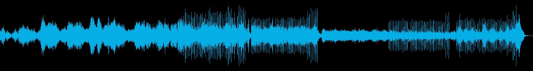 落ち着いた雰囲気のEDMの再生済みの波形