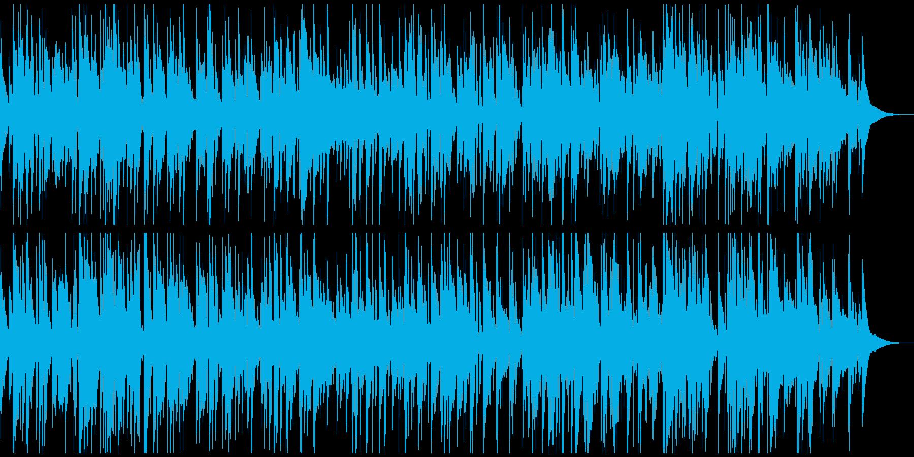生音・生楽器しっとり大人のカフェボサノバの再生済みの波形
