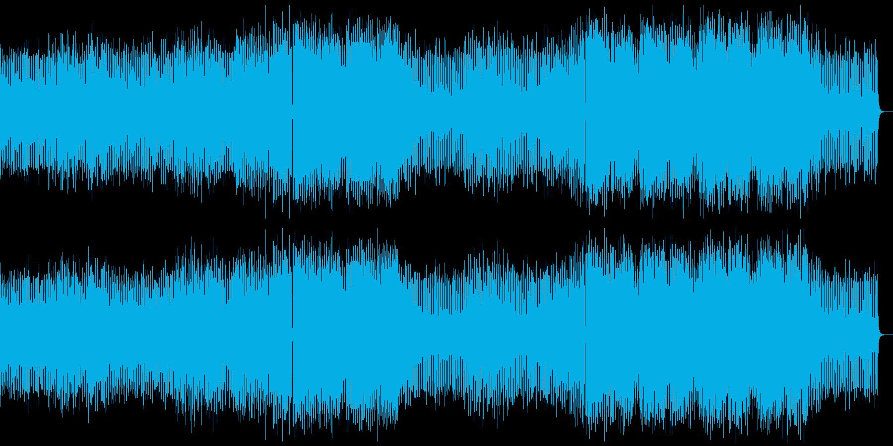 バトル系アニメやゲーム映画OPに☆EDMの再生済みの波形