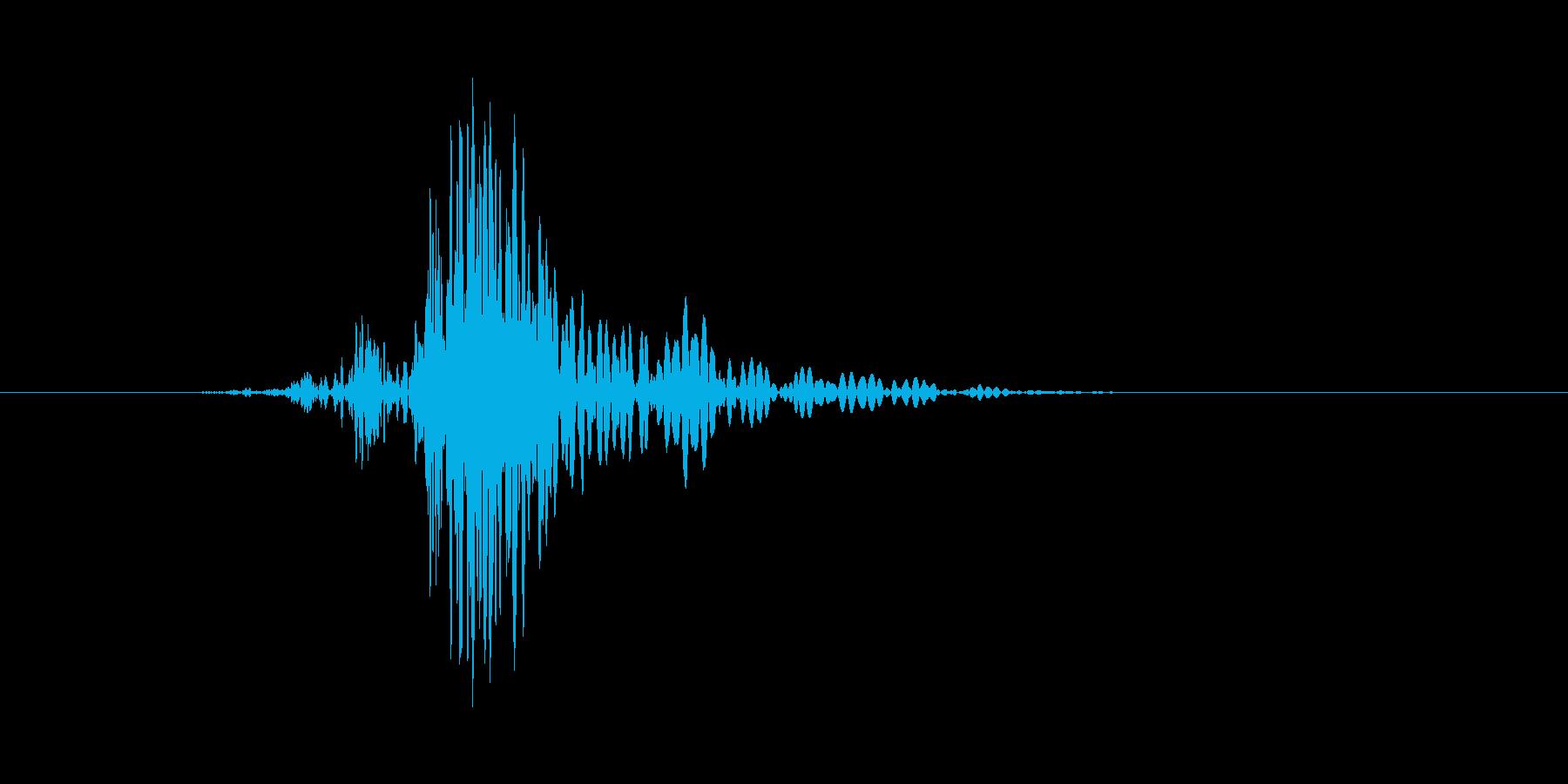 ドサッ(倒れる、気絶、戦闘不能)の再生済みの波形