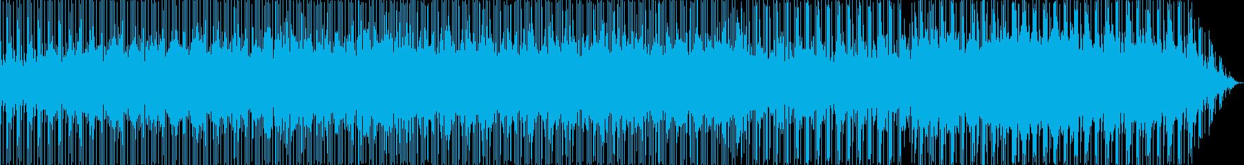 場面展開の早いCMのバックに流れるよう…の再生済みの波形