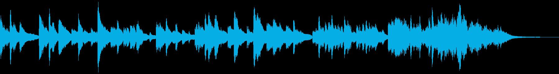 淋し気で温かみのあるピアノソロ~短縮~の再生済みの波形