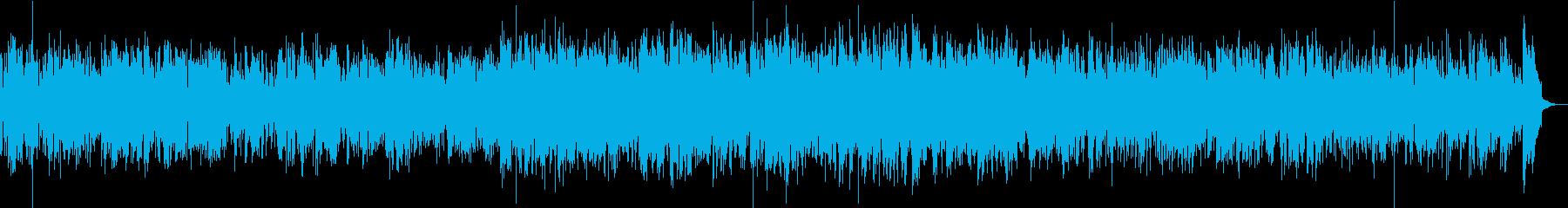 生演奏・ボサノバ・サックス・店舗BGMの再生済みの波形