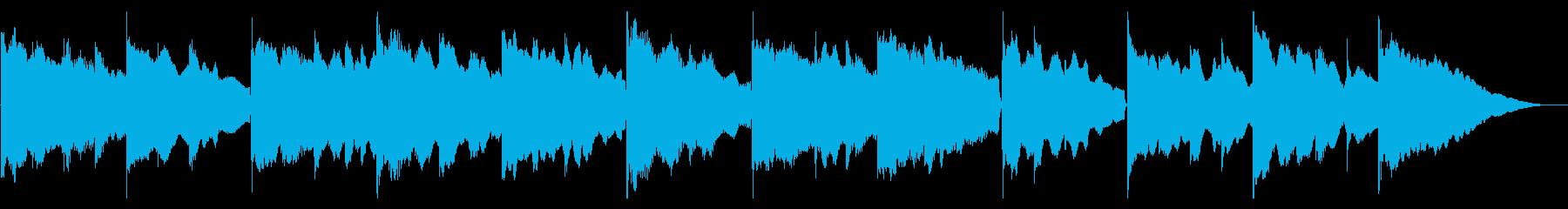 ゆったりとしたエレピソロの再生済みの波形