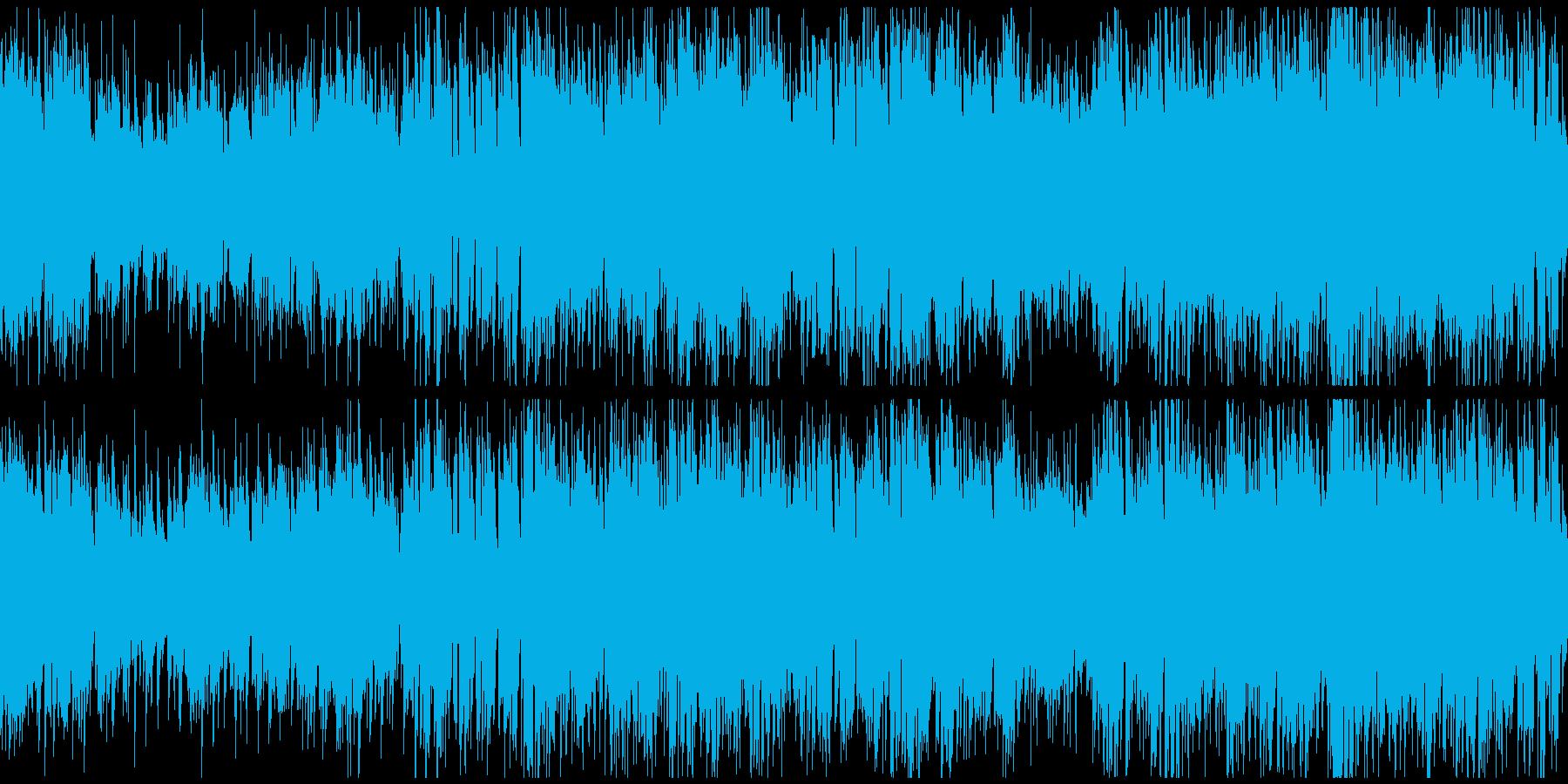 爽やかポップ70年代系 ※ループ仕様版の再生済みの波形