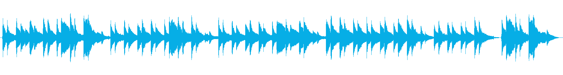 仰げば尊し  アコースティック(2)の再生済みの波形