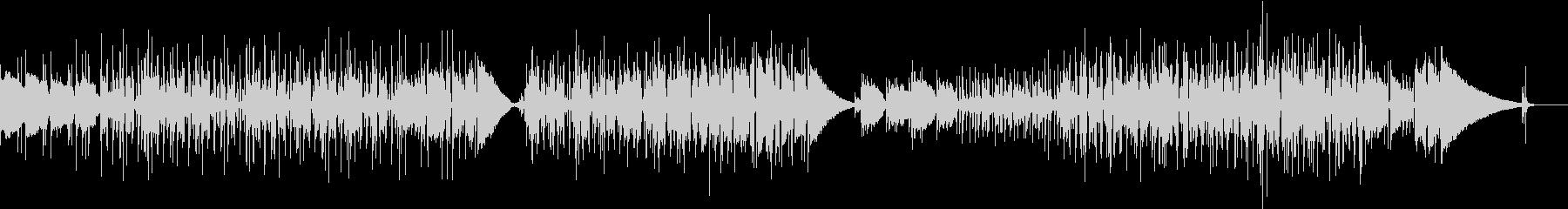 アコギ ローファイ ジャズ風の曲の未再生の波形