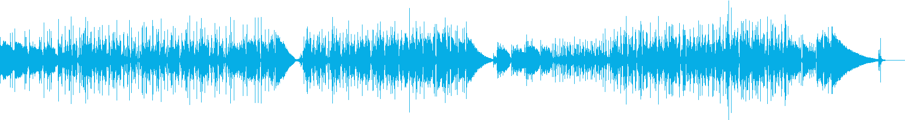 アコギ ローファイ ジャズ風の曲の再生済みの波形