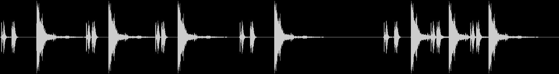 ポンプアクションショットガン:ポン...の未再生の波形